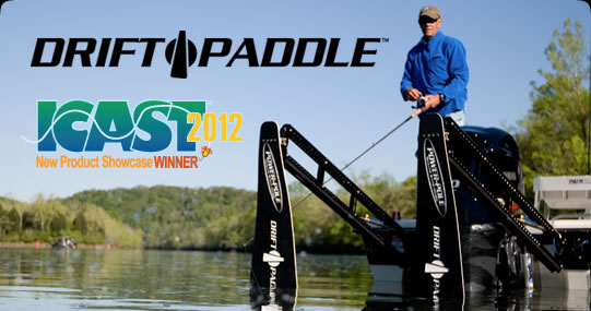 Power-Pole Drift Paddle - ICAST 2012 New Product Showcase Winner