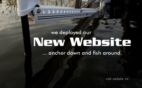 We deployed our new website. Anchor down and fish around... visit <a href=
